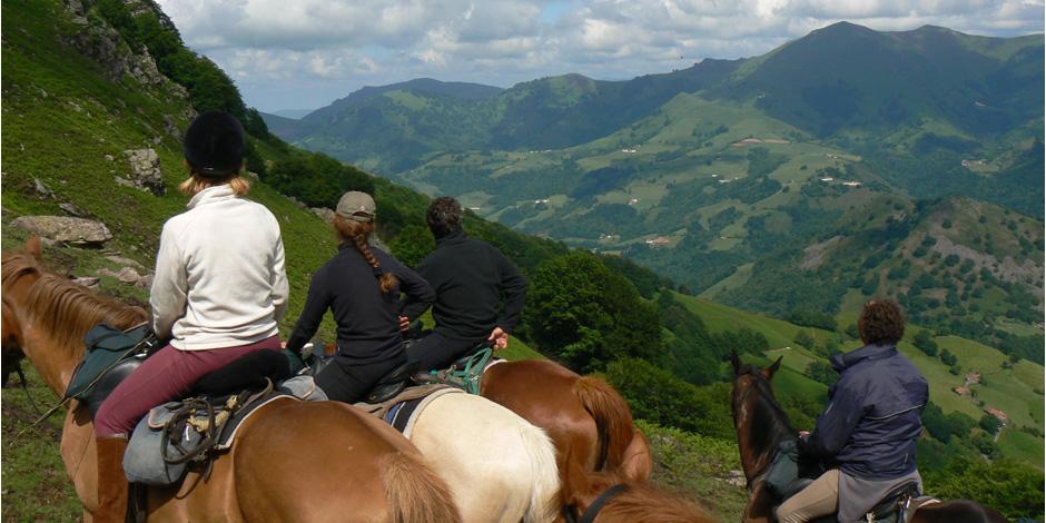 Långritt i Pyreneerna