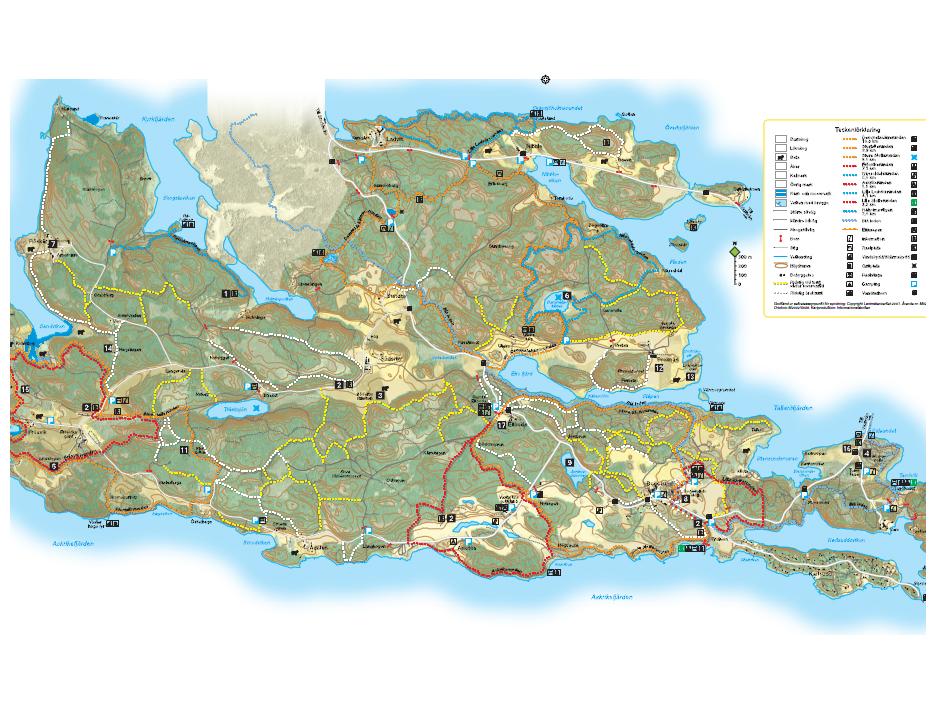 Rida på Bogesundslandet